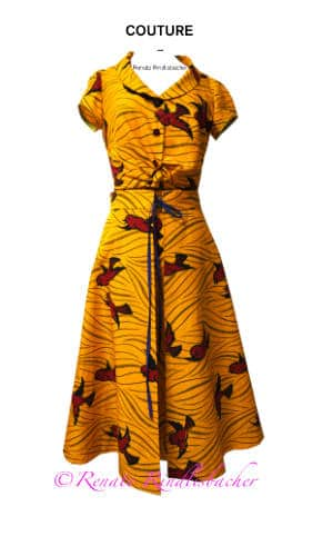 Kleid-Couture-Rindlisbacher Renate mode design aus Basel
